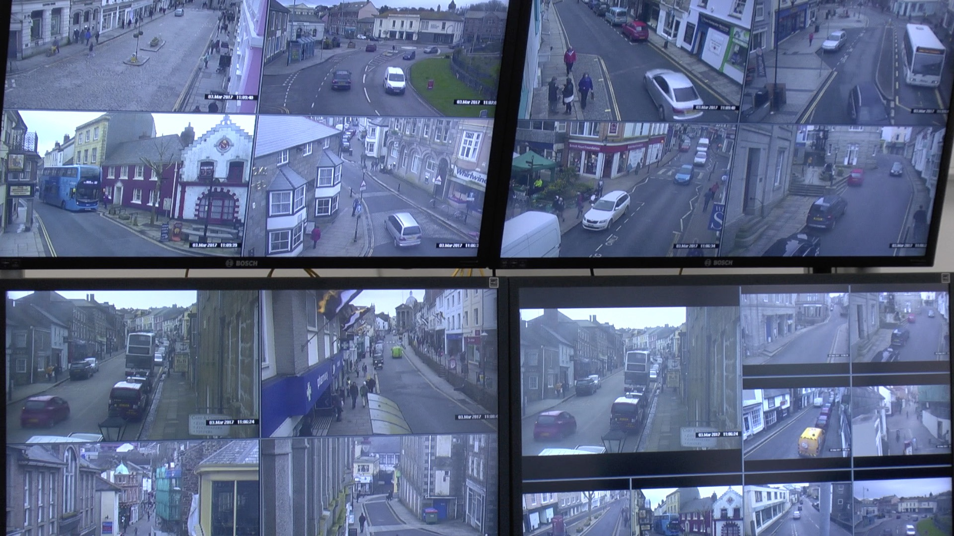 Police Commissioner pledges extra funding for CCTV and monitoring hubs in Devon and Cornwall