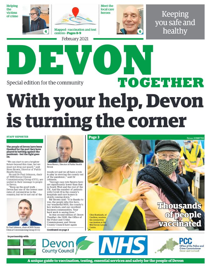 Second edition of Devon Together coming through your letterbox soon