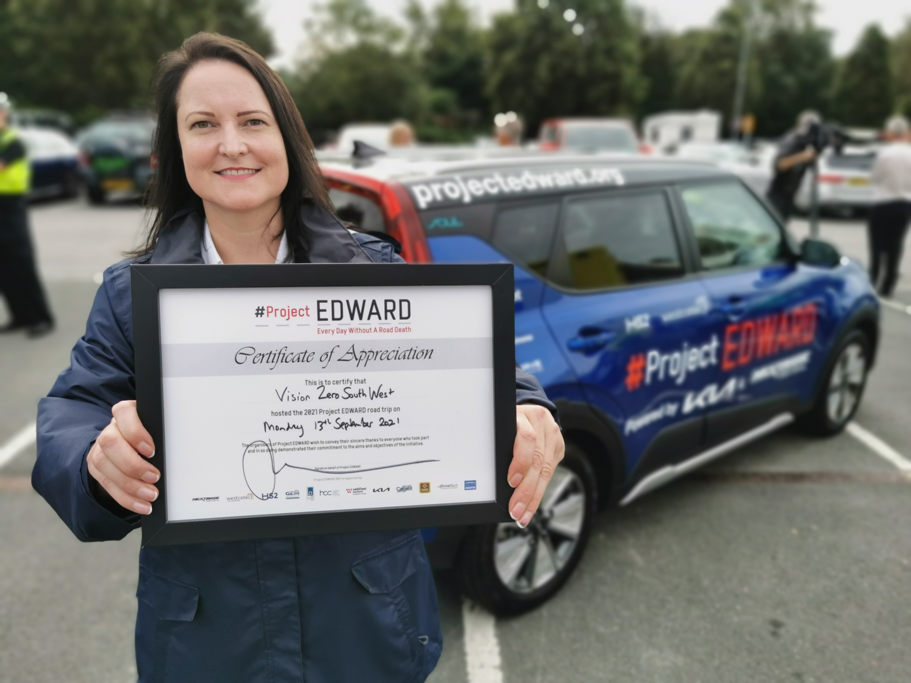 Commissioner launches national Project EDWARD road safety road trip