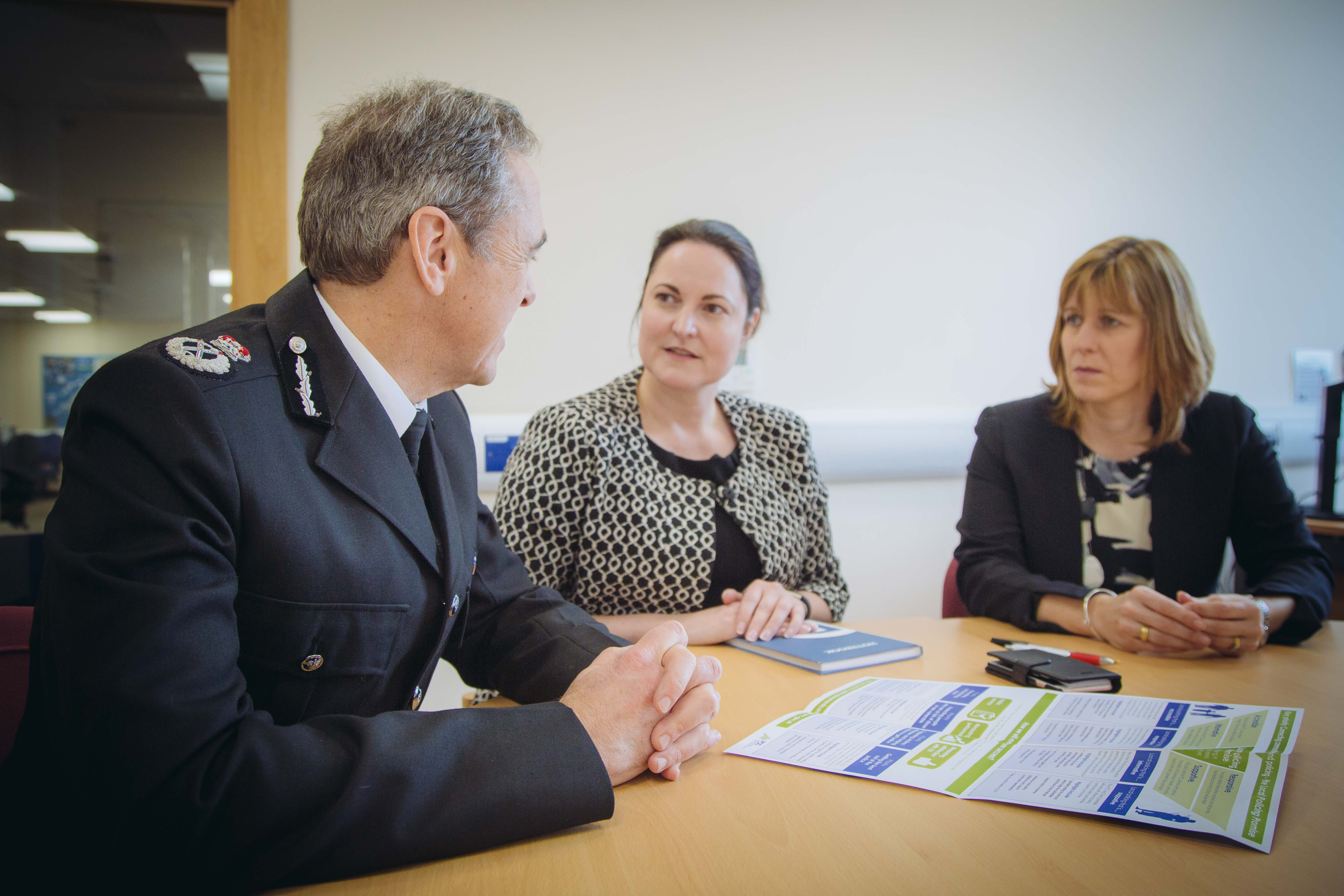 Complaints against the Chief Constable