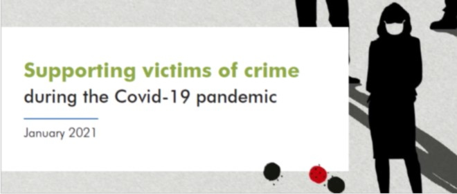 Supporting victims during the pandemic