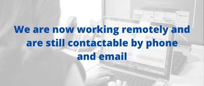 The OPCC is now working remotely but are still contactable.