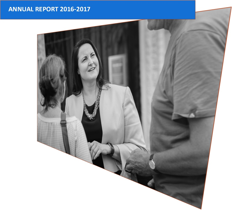Commissioner publishes first annual report