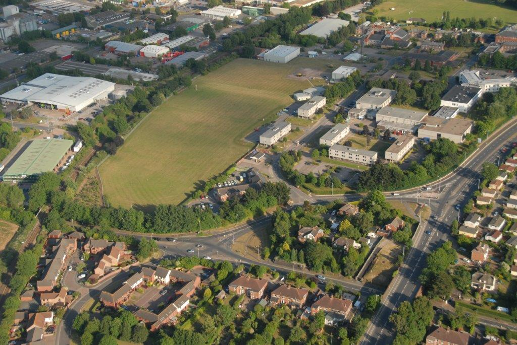 The land to be developed at Middlemoor
