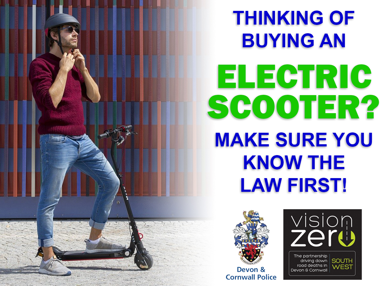 E-Scooters: Make sure you know the law