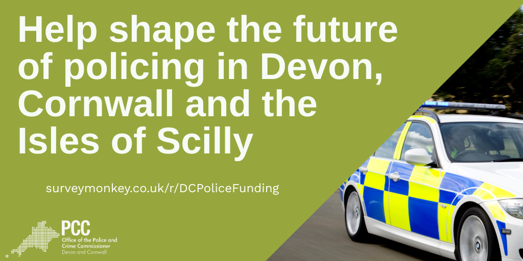Take a moment to help shape the future of policing in Devon, Cornwall and the Isles of Scilly