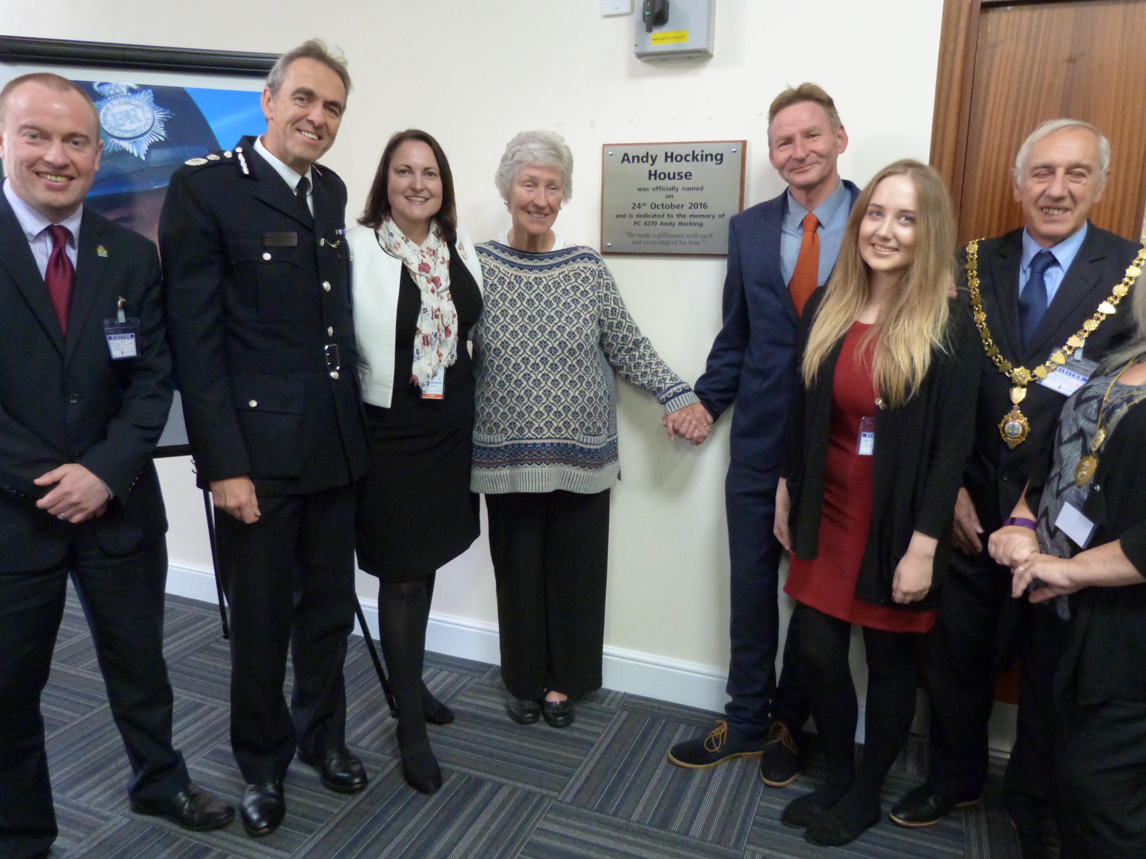 """An inspiration for local policing"" – Police HQ tribute for Falmouth PC Andy Hocking"