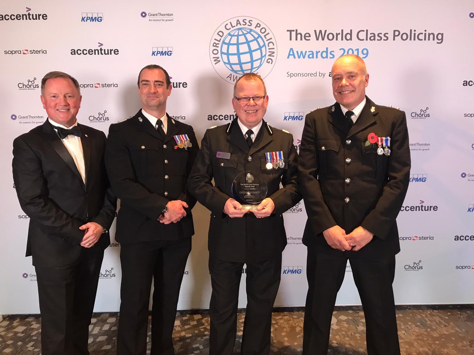 World accolade for Operation Encompass