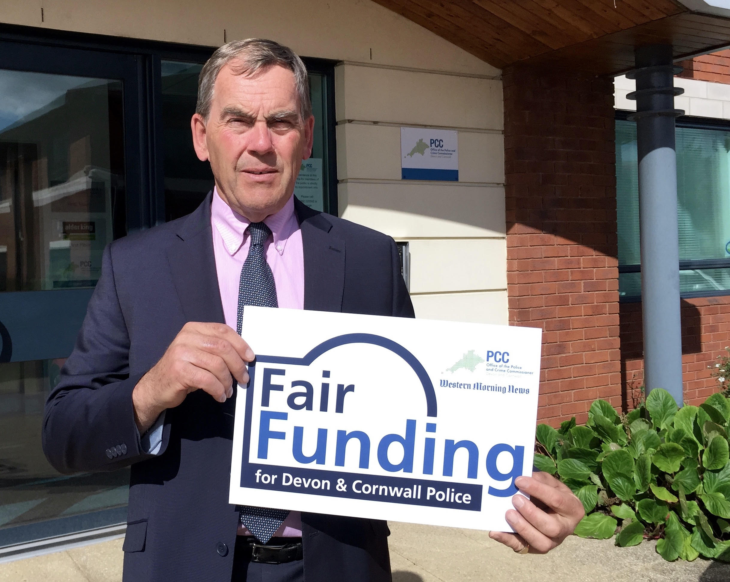Tony Hogg welcomes Government's police grant settlement